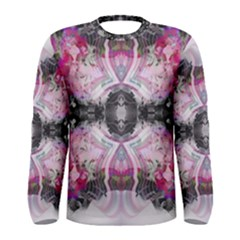 Nature forces Abstract Men s Long Sleeve T-shirts