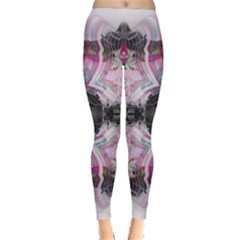 Nature forces Abstract Winter Leggings