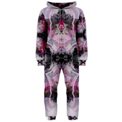 Nature forces Abstract Hooded Jumpsuit (Ladies)