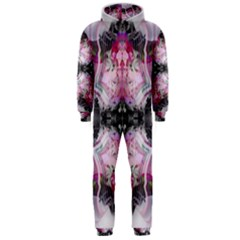 Nature Forces Abstract Hooded Jumpsuit (men)