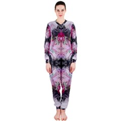 Nature Forces Abstract Onepiece Jumpsuit (ladies)