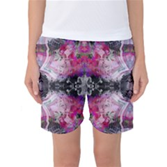 Nature forces Abstract Women s Basketball Shorts