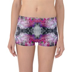 Nature forces Abstract Reversible Boyleg Bikini Bottoms