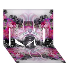 Natureforces Abstract I Love You 3d Greeting Card (7x5)