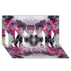 Natureforces Abstract Mom 3d Greeting Card (8x4)