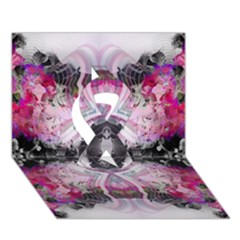 Natureforces Abstract Ribbon 3d Greeting Card (7x5)