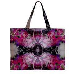 Natureforces Abstract Zipper Tiny Tote Bags