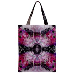 Natureforces Abstract Zipper Classic Tote Bags