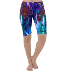 Voyage Of Discovery Cropped Leggings