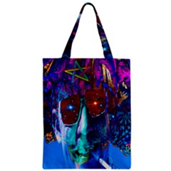 Voyage Of Discovery Zipper Classic Tote Bags