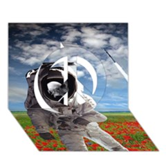 Exodus Peace Sign 3D Greeting Card (7x5)