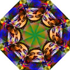 Dream Of Salvador Dali Folding Umbrellas