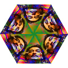 Dream Of Salvador Dali Mini Folding Umbrellas