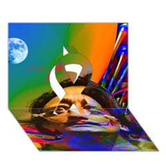 Dream Of Salvador Dali Ribbon 3D Greeting Card (7x5)