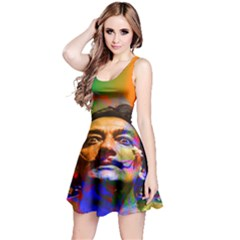 Dream Of Salvador Dali Reversible Sleeveless Dresses