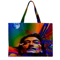 Dream Of Salvador Dali Tiny Tote Bags