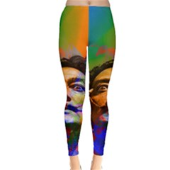Dream Of Salvador Dali Winter Leggings