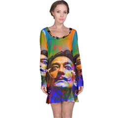 Dream Of Salvador Dali Long Sleeve Nightdresses