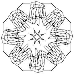 Skull Rock Folding Umbrellas