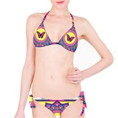 Butterfly Mandala Bikini Set