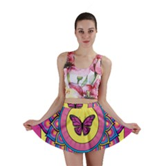 Butterfly Mandala Mini Skirts