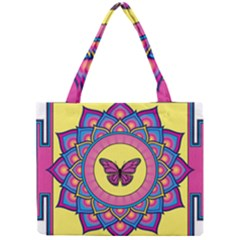 Butterfly Mandala Tiny Tote Bags