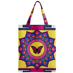 Butterfly Mandala Classic Tote Bags