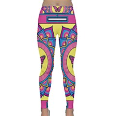 Butterfly Mandala Yoga Leggings
