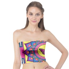 Butterfly Mandala Women s Tube Tops