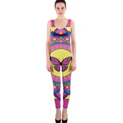 Butterfly Mandala Onepiece Catsuits