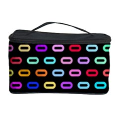 Colorful round corner rectangles pattern Cosmetic Storage Case