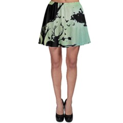 Spirit Of Woods Skater Skirts