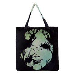 Spirit Of Woods Grocery Tote Bags