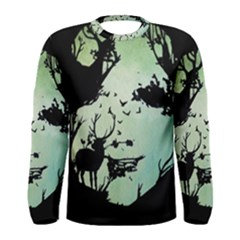 Spirit Of Woods Men s Long Sleeve T Shirts