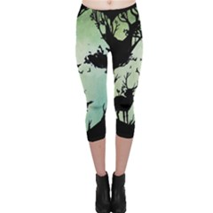 Spirit Of Woods Capri Leggings