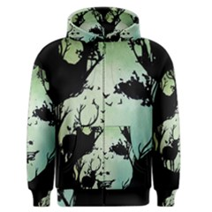 Spirit Of Woods Men s Zipper Hoodies