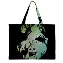 Spirit Of Woods Zipper Tiny Tote Bags