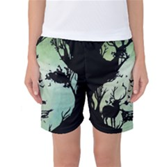 Spirit Of Woods Women s Basketball Shorts