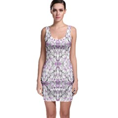 Geometric Pattern Nature Print Bodycon Dresses