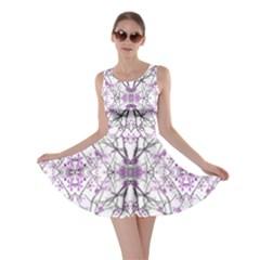 Geometric Pattern Nature Print Skater Dresses