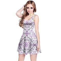 Geometric Pattern Nature Print Reversible Sleeveless Dresses