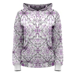 Geometric Pattern Nature Print Women s Pullover Hoodies