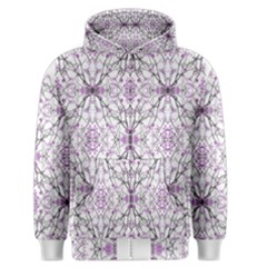 Geometric Pattern Nature Print Men s Zipper Hoodies