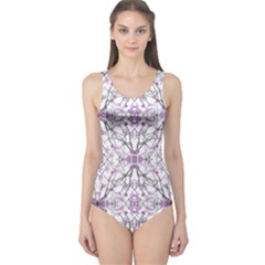 Geometric Pattern Nature Print Women s One Piece Swimsuits