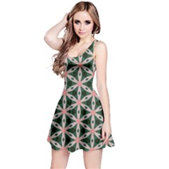 Cute Pretty Elegant Pattern Reversible Sleeveless Dresses
