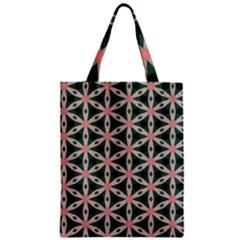 Cute Pretty Elegant Pattern Zipper Classic Tote Bags