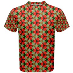 Lovely Trendy Pattern Background Pattern Men s Cotton Tees