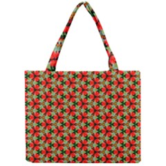 Lovely Trendy Pattern Background Pattern Tiny Tote Bags