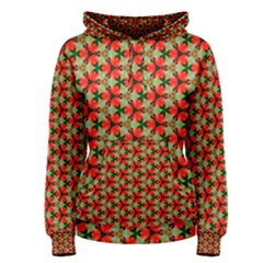 Lovely Trendy Pattern Background Pattern Women s Pullover Hoodies