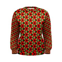 Lovely Trendy Pattern Background Pattern Women s Sweatshirts